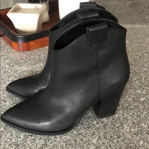 Lucky Brand Black Amarys Bootie